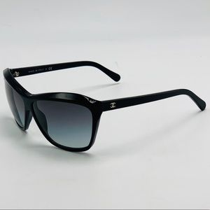 EUC Black CHANEL Sunglasses 5153